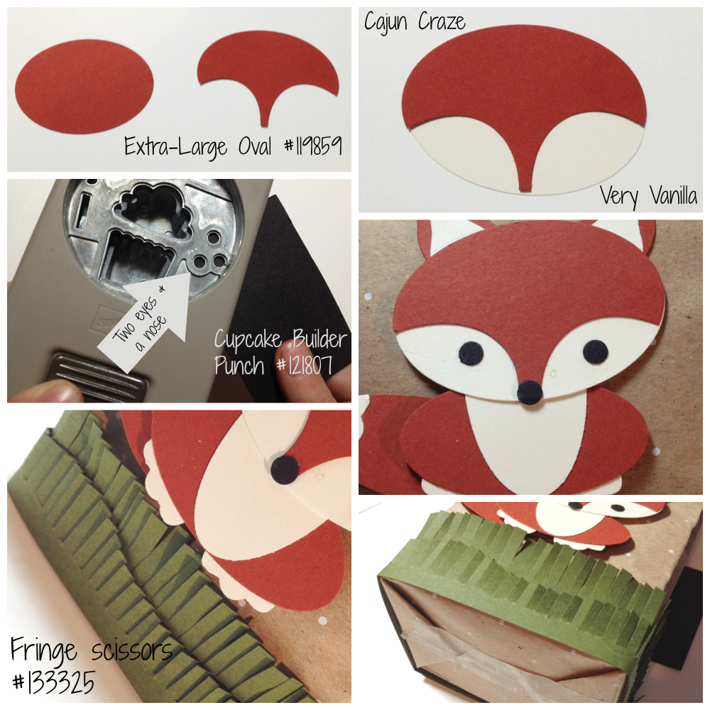 Foxy Punch Art - EurekaStampers Blog Hop