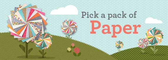 Pick A Pack of Paper for FREE - each month for 6 months