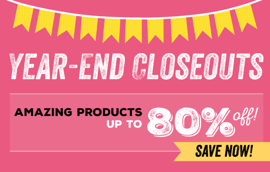 Stampin Up Year End CloseOuts