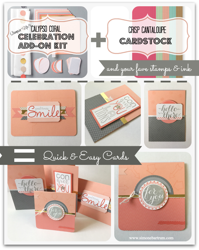 Stampin' Up!'s Celebration Add-On Kit (#133431). Retiring this month! www.simonebartrum.com