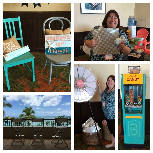 Hospitality Room: From the Stampin' Up! Incentive Trip Grand Vacation Hawaii 2015