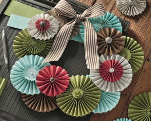 Paper Rosettes created with the Simply Scored Tool